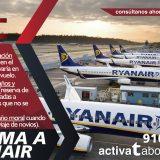 cancelación Ryanair